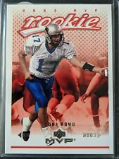 Tony Romo 2003 Upper Deck MVP #341 Rookie Card