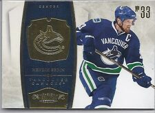 2010-11  PANINI DOMINION HENRIK SEDIN BASE CARD  /199 #95 CANUCKS