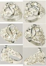 """HiQuality USA Sterling Silver Designer Ring Ancient Egyptian """"Bones of the Gods"""""""