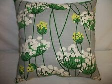 "2 DECORATIVE THROW PILLOW CUSHION COVERS 17"" INDOOR OUTDOOR"