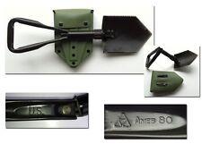 Genuine US Military-Boron Steel-Hinged Shovel & Handgrip - USED (NO Restock!)