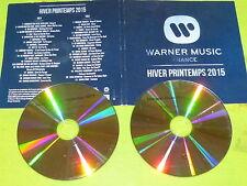 HALLYDAY - CHRISTINE &THE QUEENS - SHEERAN - M POKORA - AMAURY VASSILI  PROMO CD
