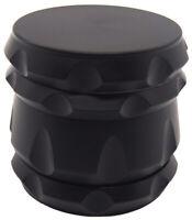 55mm 2.1 inch Titanium 4 Part Grinder Gunmetal with Design Alien 1