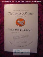 SATURDAY REVIEW October 11 1930 Walter De La Mare J B Priestley Louis Untermeyer