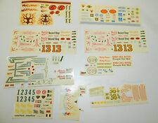 ** AMT 3 in 1 Custom Model Kit Decal Sheets George Barris **