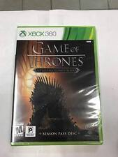 Game of Thrones *Season Pass Disc* (XBOX 360) ***BRAND NEW FACTORY SEALED***