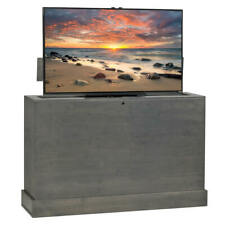 Azura 360 Degree Swivel in Grey Finish TV Lift Cabinet by TVLIFTCABINET