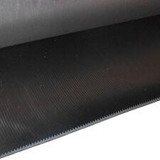 Tapis à fines rayures 3mm 1000x2000mm 2 m² noir Protection de câble atelier