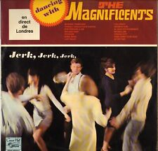 "THE MAGNIFICENTS ""DANCING WITH"" BRITISH BEAT POP 60'S LP CONCERT HALL 1282"