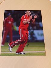 Signed James Tredwell England Cricket 12x8 Photo