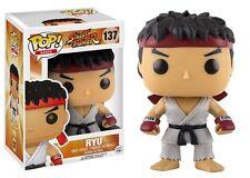Funko POP! Games ~ RYU POP! VINYL FIGURE #137 ~ Street Fighter II