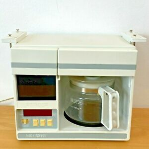 Mr Coffee Under Cabinet Coffee Maker UTC-403 with Mounts Tested 10 Cups SH