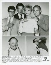FAITH FORD JOE REGALBUTO CHARLES KIMBROUGH MURPHY BROWN 1988 CBS TV PHOTO