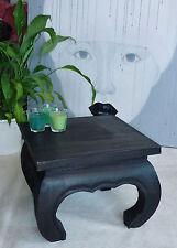 Opiumtisch Holz, 35x35x28cm, Tisch, Couchtisch, Beistelltisch, Sofatisch,Hocker