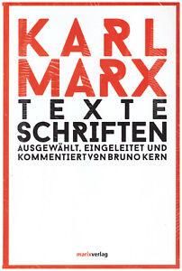Texte Schriften von Karl Marx (2015, Gebundene Ausgabe) NEU / OVP