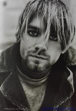 "Kurt Cobain Flag/ Tapestry/ Fabric Poster Nirvana ""Suicide"" New"
