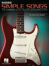 Simple Songs Easiest Easy Guitar Learn to Play TAB LYRICS CHORDS MUSIC BOOK
