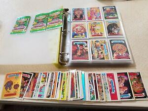 Garbage Pail Kids Lot 100s of Cards Binder E11