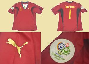 italy jersey gk buffon shirt 2006 world cup final playera maglia red chamarra
