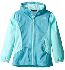 The North Face Girls Zipline Rain Wind Jacket Valhalla Blue Size L