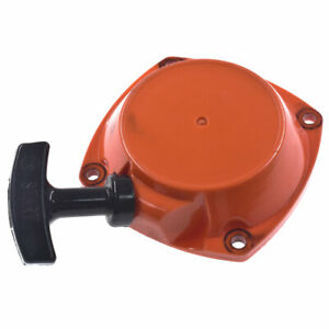 Recoil Starter Pull Start Rewind For Husqvarna 143RII Brushcutter Parts