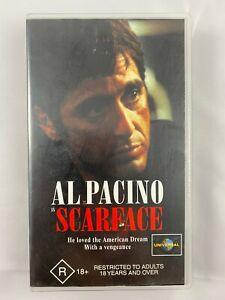 AL PACINO SCARFACE VHS