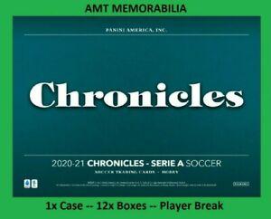Lionel Messi Barcelona 2020/21 20/21 Panini Chronicles 1X CASE 12X BOX BREAK #4