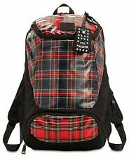 Steve Madden Landyn Plaid Laptop Backpack, Red $98