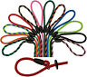 Handmade Quality Dog Gun Lead Leash Braid Rope Slip Lots of Colours Strong 8mm