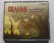 Hakon AUSTBO / BRAHMS Klavierstucke-Piano works HOLLAND 2CD box (2002) M/NM