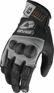 EVS Valencia Air Mesh Motorcycle Gloves Leather Palm Molded Knuckle Pad