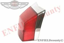 REAR LAMP TAIL LIGHT CHROME RETRO VESPA LML STAR STELLA PX 125 150 200 @UK