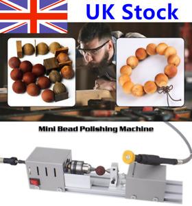 Mini Lathe Bead Machine Wood Lathe Beads Polisher Milling for Table Woodworking