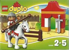 LEGO DUPLO  IL TORNEO DEL CAVALIERE   2-5 ANNI   ART 10568