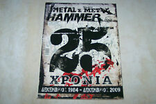 GREEK METAL HAMMER MAG 12/2009 METALLICA IRON MAIDEN