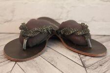 KG By Kurt Geiger Black Bejewelled Gem Embellished Sandals RRP £79 EU 40