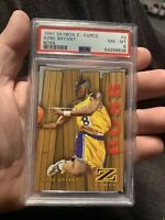 1997 Skybox Z-Force Super Boss #3 Kobe Bryant Lakers PSA 8 NM-MT