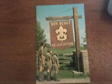 POST CARD BOY SCOUT RESERVATION  DAN BEARD COUNCIL     OHIO