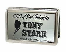 MARVEL UNIVERSE Business Card Holder -CEO OF STARK INDUSTRIES TONY STARK (0001)
