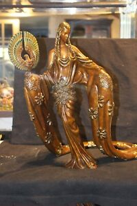"BRONZE SCULPTURE BY ERTE ""WISDOM"" EXCELLENT CONDITION BEAUTIFUL LIMITED EDITION"