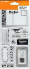 Fiskars CERTIFIED MAIL 12 Clear Stamps 103810-1001