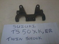 SUZUKI GENUINE TS50XK 1982 TWIN SHOCK TS50ER CLOCK SPEEDO & REV MOUNT BRACKET