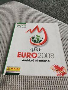 Panini Euro 2008 Empty Album - Great Condition