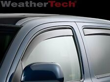 WeatherTech Side Window Deflectors - Toyota Tacoma Double - 2005-2015 - Dark