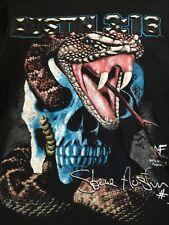EXTREMELY RARE 1999 WWF Stone Cold Steve Austin Skull And Rattlesnake Shirt