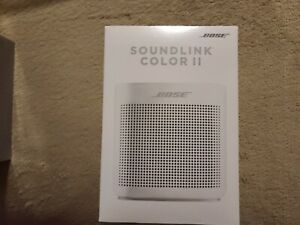 Bose SoundLink Color 2 Bluetooth Speaker- NEW