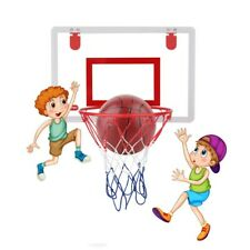 Basketball Hoop Frame Portable Adjustable Mini Backboard Kid Sports Net Youth