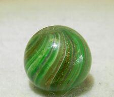 #4746m Vintage German Onionskin Lutz Marble .63 Inches Has Internal Damage
