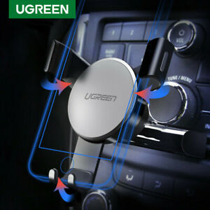 Ugreen Gravity Car Phone Holder CD Slot Mount Stand for iPhone 11 X 8 Samsung S9