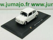 IT64N Voiture 1/43 STARLINE : FIAT abarth 850 TC Corsa 1963